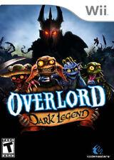 Overlord: Dark Legend WII New Nintendo Wii