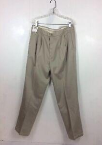LIZ CLAIBORNE Pants Non Iron Chinos Mens 36 NEW