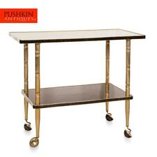 STYLISH 20thC CONTINENTAL DRINKS TROLLEY