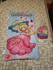 NINTENDO SUPER PRINCESS PEACH SLEEPING BAG Pre-owned Backpack
