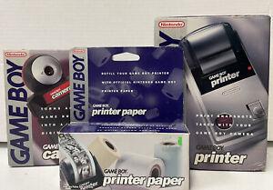 Nintendo Gameboy Camera & Printer Bundle C2