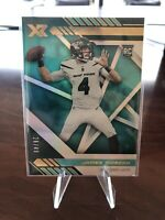 2020 Panini XR James Morgan Rookie RC #'d /49 JETS