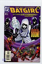 DC COMICS 2002 BATGIRL Green Arrow Legion of Doom #31 F/VF Ad Zapzyt