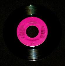 "PAULA ABDUL ""VIBEOLOGY/Vibeology (House Dub)"" VIRGIN 98737 (1991) 45 rpm SINGLE"