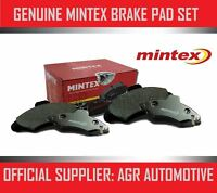 MINTEX REAR BRAKE PADS MDB1651 FOR OPEL OMEGA 2.3 TD 87-89