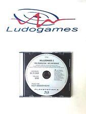 Killzone 2 Pre Production PAL/EUR Rare PS3 Playstation Videojuego Retro