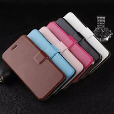 Apple iPhone 6 6s Plus Colourful Leather Flip Stand Wallet Cover Case