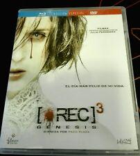 REC 3 GÉNESIS - PACO PLAZA Y JAUME BALAGUERO - DVD + BLURAY -  SPANISH EDITION