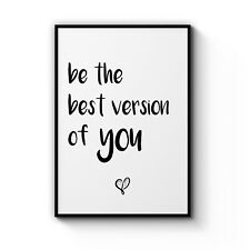Cute Motivational Quote Inspirational Decor Poster Wall Art Print Artwork Frame