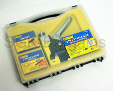 Heavy Duty 3 VIE Staple Gun with graffe e chiodi resistente CUCITRICE NAIL GUN 3WAY