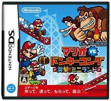 Used Nintendo DS Mario vs. Donkey Kong: Mini-Land Mayhem Japan Import