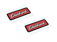 EDELBROCK Classic Retro Car Motorcycle Decals Stickers