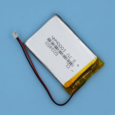 Li-Polymer Rechargeable Battery with connector for GPS MP3 3.7V 1000mAh 503450