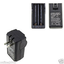 Universal 3.7V Li-ion Dual Battery Charger For 18650 16340 26650 Rechargeable