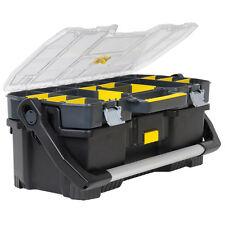 """Stanley STA197514 60cm 24"""" boîte à outils organisateur et plateau fourre-tout 2 en 1 1-97-514 nouveau"""