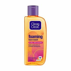 Clean & Clear Foaming Face Wash 100ml FREE SHIPPING