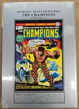 Champions Volume 1 Collects 1-10 Lee Kirby Marvel Masterworks HC New Sealed