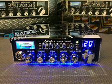 Cobra 29 LTD Chrome CB Radio - BLUE NITRO LED RINGS+PERFORMANCE TUNED+ECHO