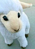 "Hansa Plush - 12""  Sheep kid white new  3455 2015"