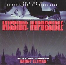 Soundtrack - Mission Impossible (Score) (1996) - Used - Compact Disc CD