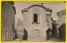 cpa Dos 1900 CITÉ de CARCASSONNE (Aude) VIEILLE MAISON de la PLACE GARIBALDI