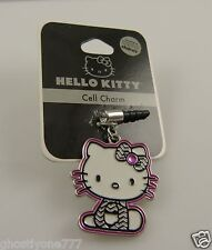 Hello Kitty bling cell phone plug or for  Ipad charm ear cap dust plug  Sanrio