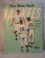OLD NEW YORK YANKEES 1955 YEARBOOK JAY BASEBALL VINTAGE