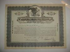 L'Enfant-Oley Martine Mfg. Corporation Stock Certificate Delaware