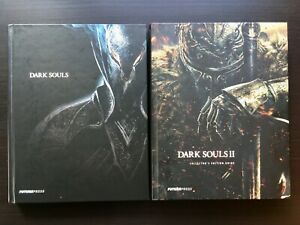 Dark Souls 1 & 2 Official Guides By Future Press Hardcover - Free Shipping!