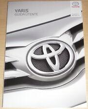 Toyota YARIS,anno 2016,GUIDA UTENTE,manuale uso manutenzione,nuova YARIS.