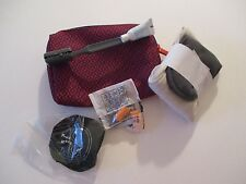 TRAVEL BAG SUPPLIES AIR FRANCE SET NEW NEVER BEEN USED #2
