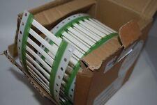 Expressmark 3.2mm Diameter x 50mm Zero Halogen Sleeves White ETZ-9-032050-B