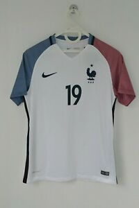 France FFF Soccer Away Match Jersey Nike #19 Pogba