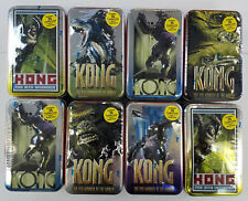 Lot of 8 Diff 2005 Tins Topps King Kong 8th Wonder of the World Trading Card Tin