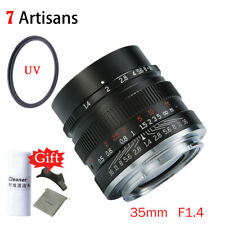 7artisans 35mm F1.4 Full Frame Single Focus Prime Lens F Canon Nikon Sony Camera