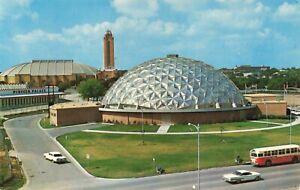 Postcard Ephemera Famous Amon Carter Square Fort Worth Texas Farrington Field