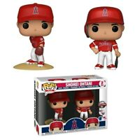 MLB - Shohei Ohtani (New Jersey) US Exclusive Pop! Vinyl 2-pack [RS]-FUN37977...