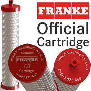 Genuine Franke 08 Water Filter for Franke Omni and Instante Boiling Water Taps