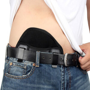 Tactical Concealed Carry Pancake Gun Holster Double Clip Pistol Holster Outdoor