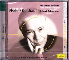 Fischer-Dieskau: Brahms-Quattro Canti, gravi, Schumann-CANZONI CD