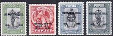 PAPUA - Sc 114 - 117 - COMPLETE MNH SET - LOOK!