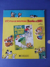 PLV Roba - Boule et Bill - Nouvel album - 22 v'là Boule et Bill - Dargaud
