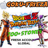 iOS - Dokkan Battle - NEW Goku + Frieza with 1400+ Dragon Stones - Fresh Global
