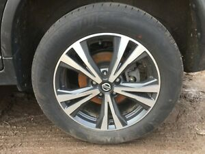 NISSAN X-TRAIL N-CONNECT XTRONIC -2018 2019 2020 - ALLOY WHEEL & TYRE 225/60/R18