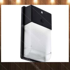 HomeZone Outdoor Security Sensor Wall Light 3000K LED Warm White Auto On Off