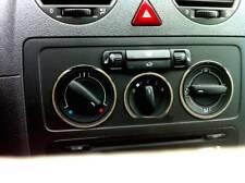 D VW T5 Chrom Ring für Gebläseschalter - Edelstahl poliert