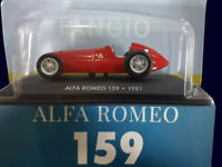 FANGIO COLLECTION - ALFA ROMEO 159 (1951) Diecast 1:43 La Nacion ARGENTINA