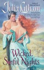 Wicked, Sinful Nights by Julia Latham *#5 League of the Blade* VG C (2010, PB)