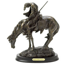"""The End Of The Trail"" Bronze Western Americana Statue"
