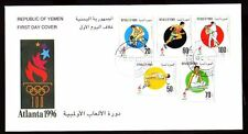 Yemen Republic 1996 FDC Mi.162/66 Olympische Spiele   Olympic Games Atlanta USA